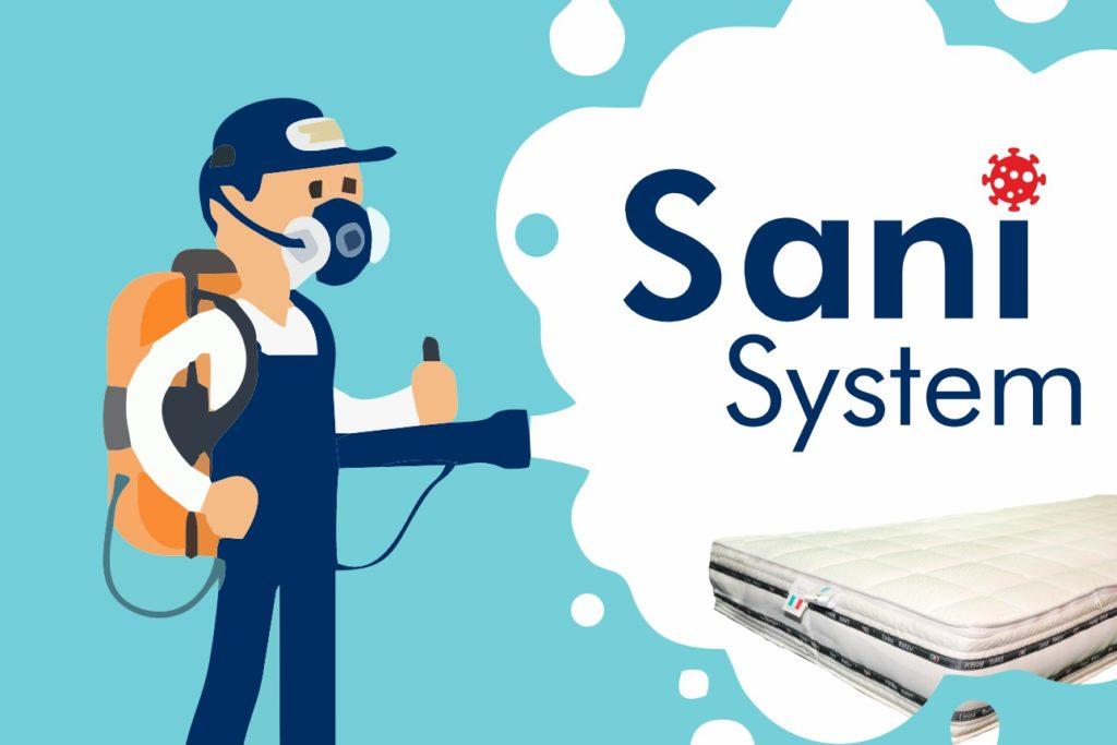 Sanificazione materassi padova sani system
